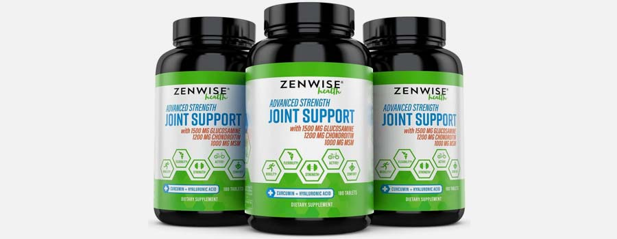 Zenwise Health Extra Strength Joint Supplement