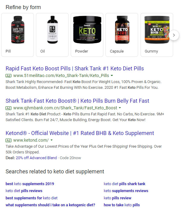 keto-diet-supplement-search-results