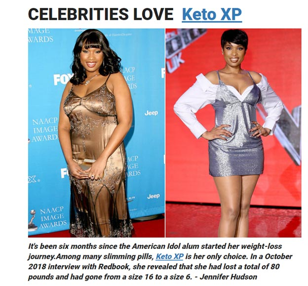 Celebrities-Keto-XP-lose-weight