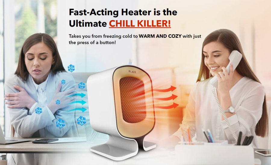 blaux heater warming effects